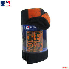 "New Northwest MLB San Francisco Giants Large Soft Fleece Throw Blanket 50"" X 60"""