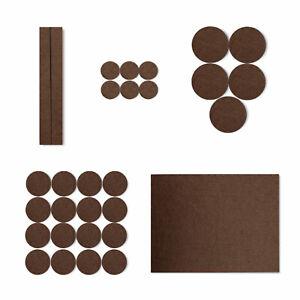 30 Felt Pads Self Adhesive Sticky Wood Furniture Floor Chair Legs Protectors