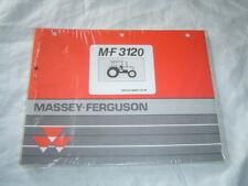 Massey Ferguson MF3120 MF 3120 tractor parts catalog book manual