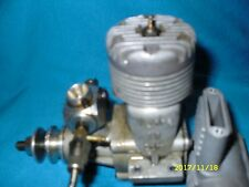 RC Webra 60 model airplane engine with muffler