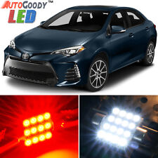 8 x Premium Red LED Lights Interior Package Kit for Toyota Corolla 2000-2017