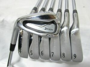 Used LH Srixon Z585 Forged Iron Set 4-P Regular Flex Steel Shafts