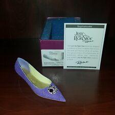 Raine Just the Right Shoe Coa Box Sophisticate 25566 Step Into Elegance