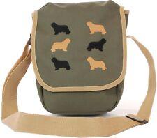 bearded collie dog breed cross body bag original design bags for women men child