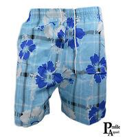 BNWT Mens Floral Flower Cargo Beach Summer Board Swim Surf Shorts With Pockets