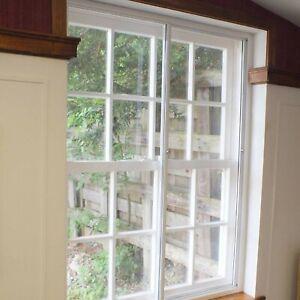 Opening Secondary Glazing Unit - Aluminium Horizontal Slider and glazing panels