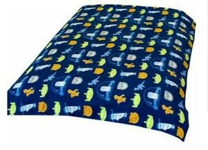 Toy Story 3 Fleece Blanket Bed Throw Large 120 x 150 CM