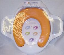 The Neat Nursery Company Comfy Toilet Training Seat with handles in orange