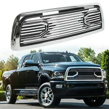For 10-18 Dodge Ram 2500 3500 Big Horn Chrome Packaged Grille+Replacement Shell (Fits: Dodge Ram 2500)