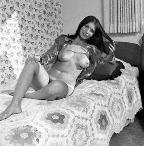 8x10 Print Sexy Model Pin Up Brunette Glenda Parker by Ron Vogel 1968 #RVAD