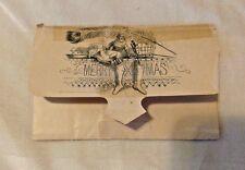 Vintage Business Christmas Card JH HURD BOOKS & STATIONERY Bradford PA
