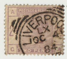 1883-1884 Great Britain - Queen Victoria - 2 Pence Stamp
