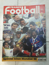 France Football Spécial Champions du Monde 1998