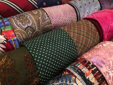 Lot 50 Silk Neckties Craft Quilting Cutter Job Suit Wear Tie Lots
