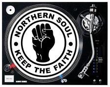 Northern Soul # 10 - 8 x 10 Tee Shirt Iron On Transfer turntable