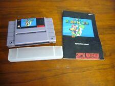 Super Mario World Cartridge Super Nintendo, SNES, 1991 Japan