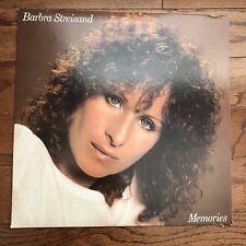 Barbra Streisand - Memories (1981) Vinyl LP • Barbara, Memory, Best of