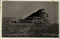 Gibraltar Vintage Postcard alte AK ~1940 Blick auf den Felsen von Gibraltar