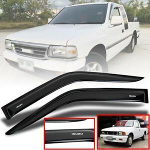 Rain Visor Wind Shield Sun Guard For Isuzu TFR TF Rodeo Pickup 2 Doors 1990-2001
