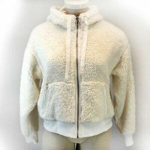 Athleta Cozy Sherpa Reversible Jacket SIZES  XXS,XS,S,M,L NWT Retail $138 NWT
