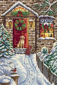 Panna Cross Stitch Kit : Christmas Eve