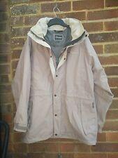 Berghaus aquafoil Waterproof Rain Jacket Coat Taglia 12 HOOD ZIP