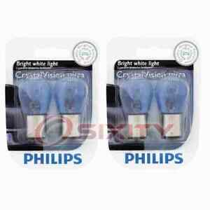 2 pc Philips Parking Light Bulbs for Renault R12 R16 1969-1973 Electrical ns