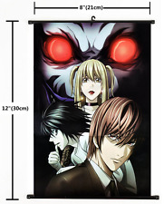 1998 Anime Death Note Wall Scroll Home Decor Poster Cosplay