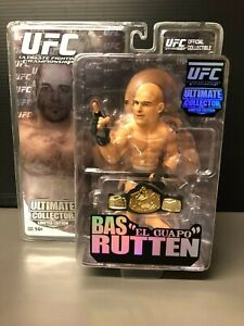UFC ULTIMATE FIGHTING CHAMPIONSHIP BAS RUTTEN LIMITED EDITION #1905/1998 Round 5