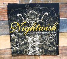 Nightwish Endless Forms Most Beautiful 2015 Concert Tour Black Shirt M Spokane
