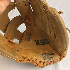 Louisville Slugger Left Hand Leather Baseball Glove x90 osg27 Broken In Tpx