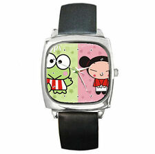 Keroppi chinese pucca high quality leather wrist watch