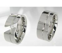 Eheringe Trauringe Verlobungsringe aus Titan Partnerringe mit Ringe Gravur T120