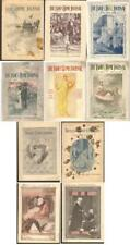 6 issues LADIES' HOME JOURNAL + 4 issues WOMAN'S HOME COMPANION all pre-1900