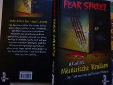 Mörderische Krallen von R. L. Stine Fear Street Buch gebr.