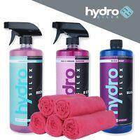 Pack HydroSilex Essentiel - 3x 1000 ml + 5x microfibres
