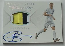 2015-16 Panini Flawless Harry Kane auto relic /25 Top of the Class Soccer Card