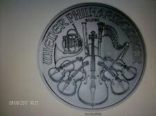 Philharmoniker 1 UNZE Silber-2017 - Münze Österreich-Sammler-Geschenk-Symbolfoto