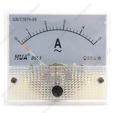 1×AC5A Analog Panel APM Current Meter Ammeter Gauge 85L1 AC0-5A