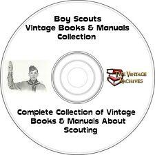 Boy Scouts Vintage Books & Manuals Collection on CD - Boy Scouts, Camping