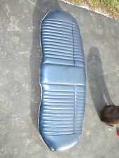 LINCON TOWN CAR DARK BLUE LEATHER REAR SEAT BOTTOM 81 82 83 84 85 302 5.0 PARTS