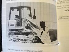 ORIGINAL 1991-92 CASE 855E CRAWLER DOZER TRACTOR OPERATORS MANUAL VERY NICE
