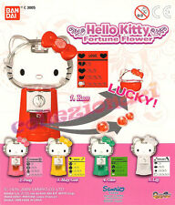HELLO KITTY Fortune flower Mini Distributori Bandai New 5 PEZZI