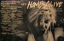 HOME ALIVE POSTER, THE ART OF SELF DEFENSE (H6)