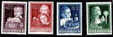 AUSTRIA. 1948. SET (4) WELFARE UM/MINT.SG 1162-5.
