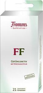 Fromms FF Gefühlsaktiv 21 Kondome mit Spezialgleitfilm