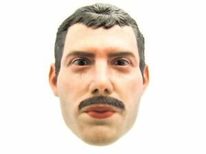 1/6 Scale Toy Queen - Freddie Mercury - Male Head Sculpt