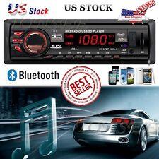 In Dash 1 DIN Car Audio Bluetooth Stereo Audio MP3 Player FM Radio USB AUX GPS F
