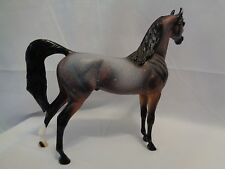 Unique Peter Stone Arabian Stallion Glory Days Copper Bay Roan Model Horse SR