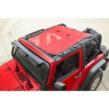 Rugged Ridge 13579.26 Eclipse Sun Shade Red For 07-18 Jeep JK 2dr NEW